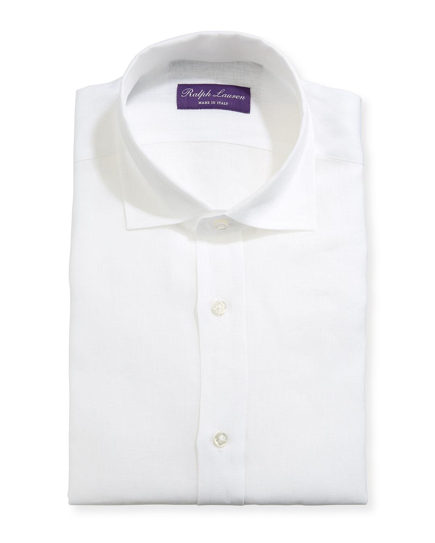 Ralph Lauren Dresses MEN'S SERENGETI STRETCH POPLIN DRESS SHIRT