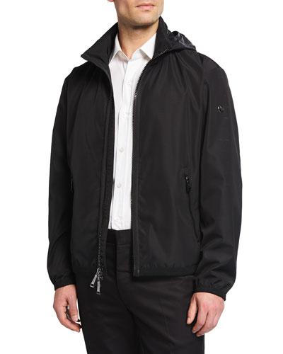 Men's Glen Deck Zip-Front Jacket
