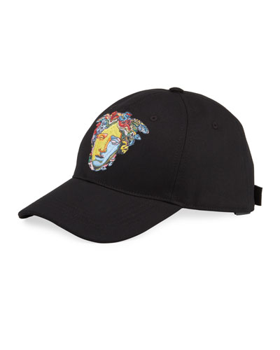 06b6edfcc75 Men s Medusa Head Embroidery Baseball Hat