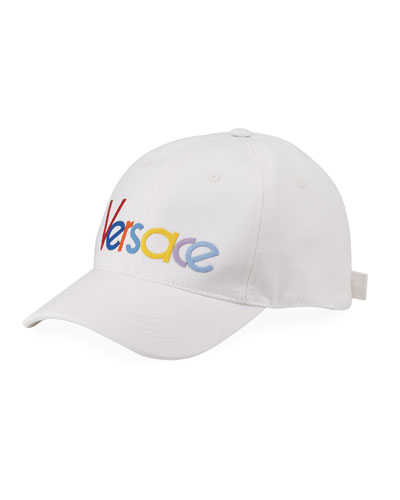 Men's Logo Embroidery Baseball Hat