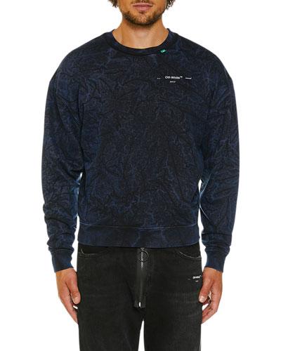 Men's Faded Volume Crewneck Sweatshirt