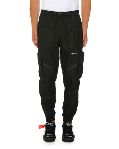 Men's No Color Parachute Cargo Pants
