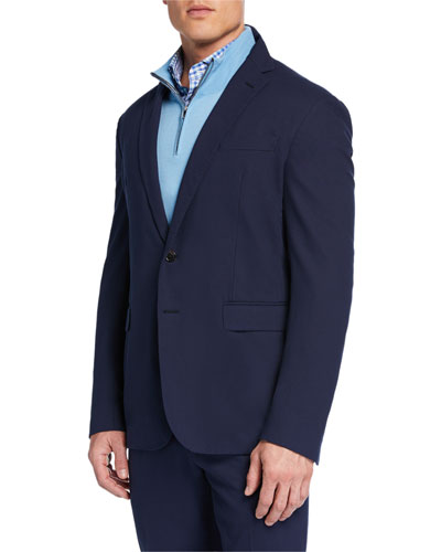 Men's RLX Hadley 2-Button Jacket, Navy
