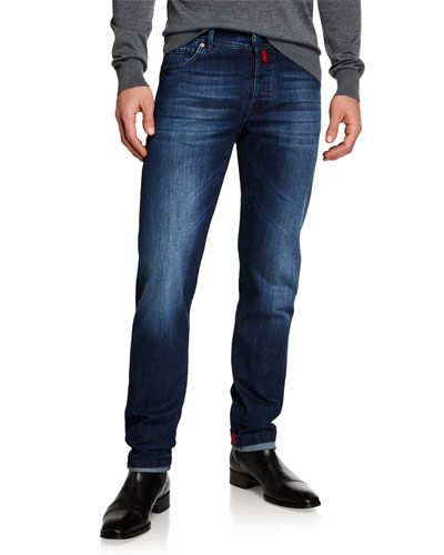 73344d9fcc4 Men s Slim Fit Medium Wash Denim Jeans