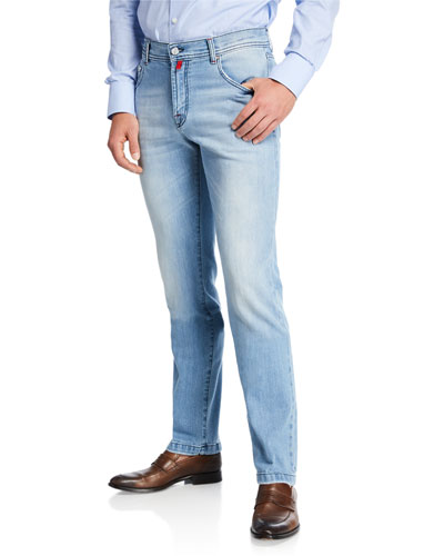 Men's Five-Pocket Denim Jeans