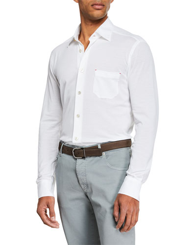 Men's Pique Sport Shirt