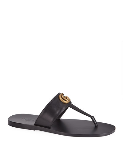 4a59ac37e498 Men s GG-Stud Leather Thong Sandals Quick Look. Gucci