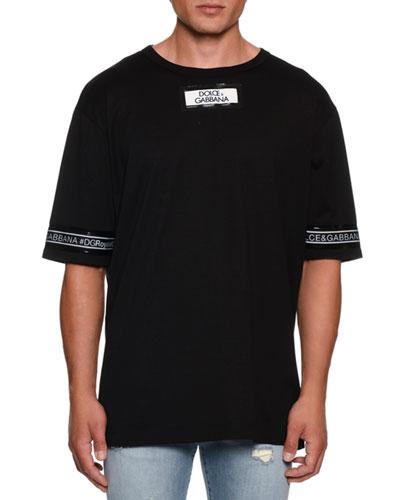Men's Oversized Logo T-Shirt