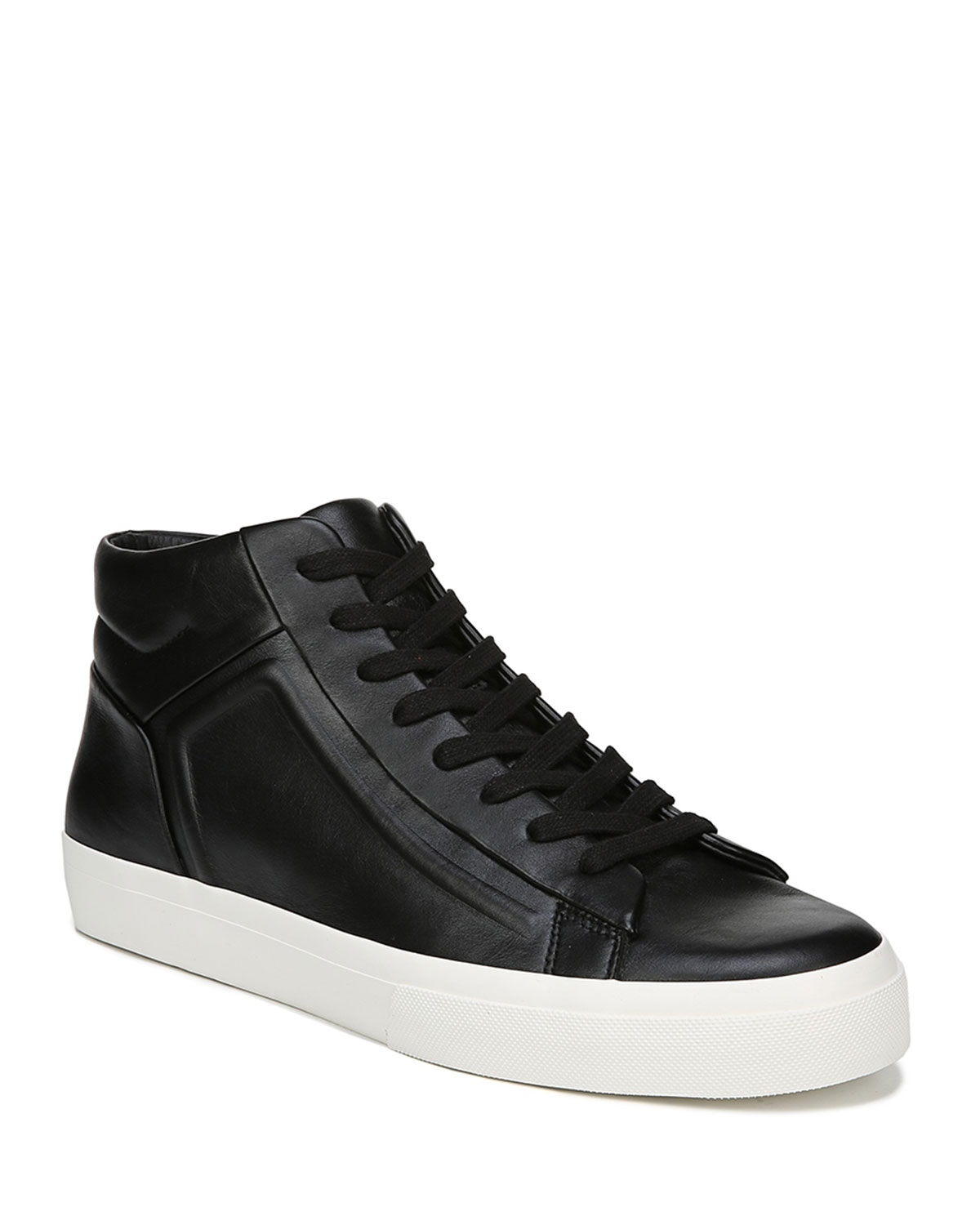 Vince Leathers MEN'S FYNN GLOVE LEATHER LOW-TOP SNEAKERS