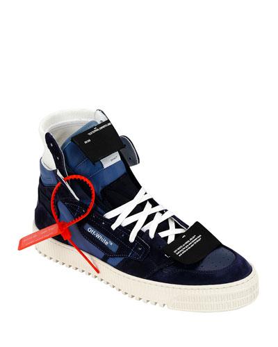 Men's Off Court Low-Top Canvas Sneakers