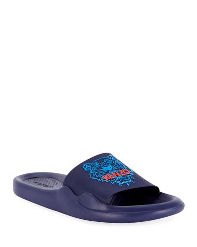 6df01da459f Men s Logo EVA Pool Slide Sandals