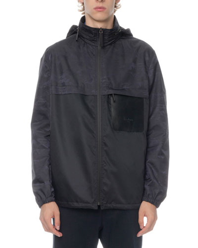 Men's Scritto Wind-Resistant Zip-Front Jacket