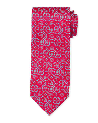 a8b585ae8274 Abstract Floral Silk Tie Quick Look. Charvet