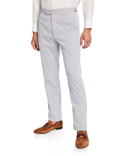 Men's Bedford Cotton-Stretch Corduroy Pants
