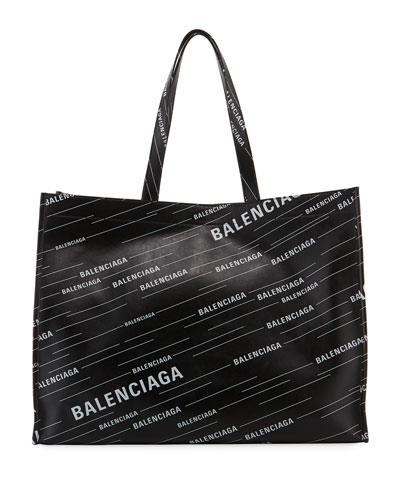 c6c1ed591c59 Men's Market Shopper Logo Tote Bag Quick Look. Balenciaga