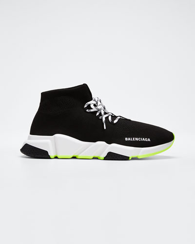 Men's Lace-Up Speed Sneakers