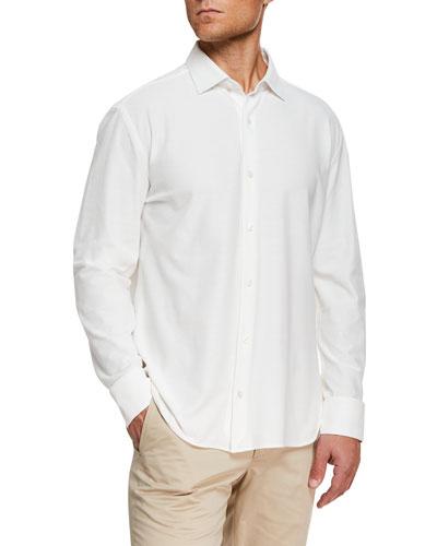 Men's Knit Sport Shirt