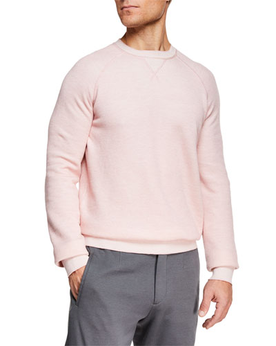 Men's Cotton/Cashmere Crewneck Sweater