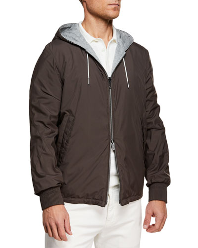 Men's Puddy Reversible Wind-Resistant Jacket