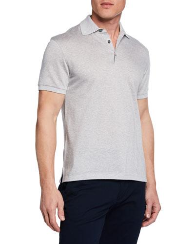 Men's Twill Polo Shirt