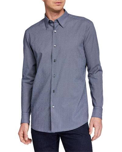 Men's Micro-Circle Sport Shirt