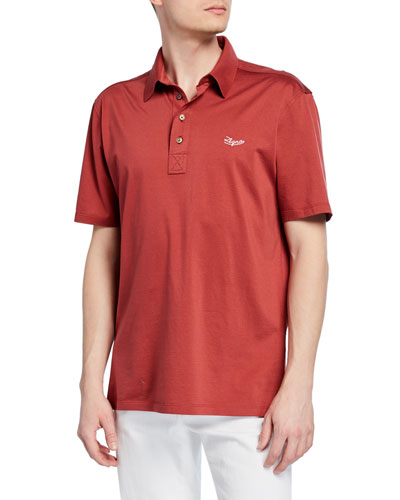 Men's Mercerized Cotton Polo Shirt