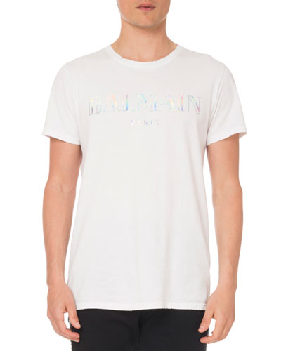 Men's Holographic Logo T-Shirt