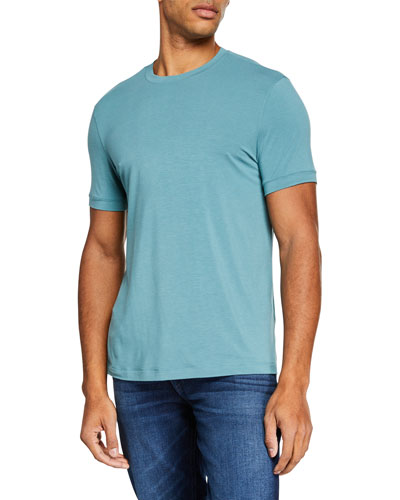 Men's Stretchy Crewneck T-Shirt