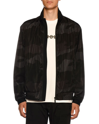 756fe562c7e Men s Theodore Camo Nylon Jacket Quick Look. Moncler