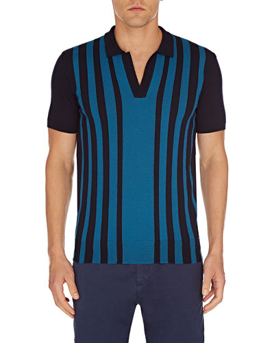 Men's Horton Striped Wool Shirt