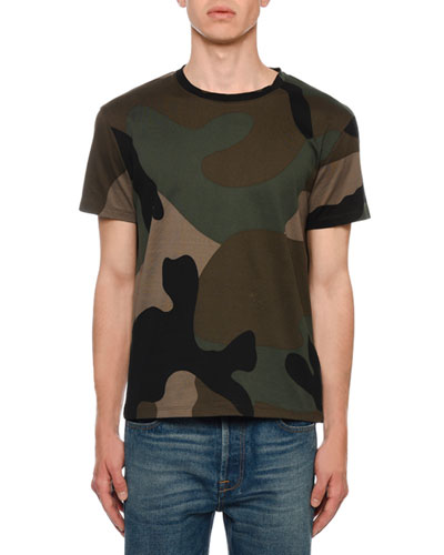 Men's Army Camo T-Shirt