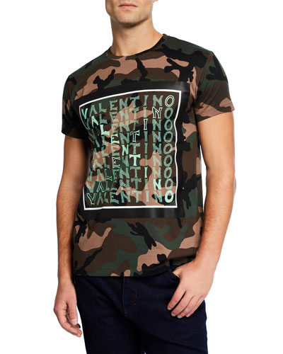 Men's Short-Sleeve Camo T-Shirt