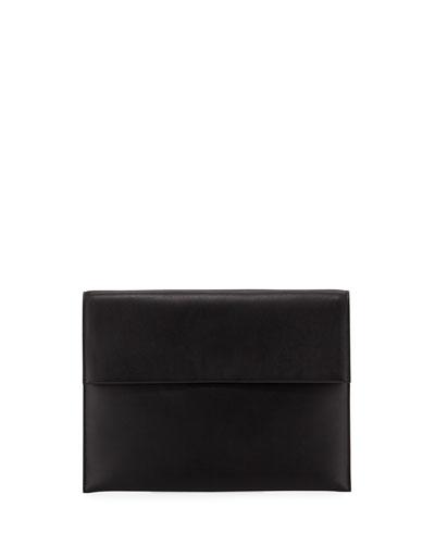 Men's Small Calfskin Leather Portfolio Bag
