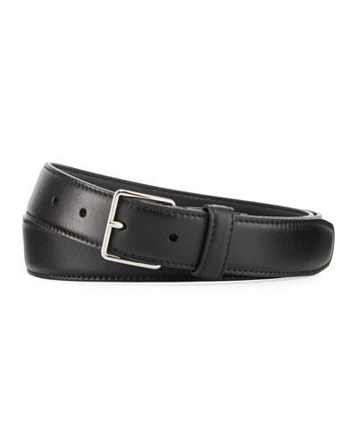Men's Sleek Leather Belt