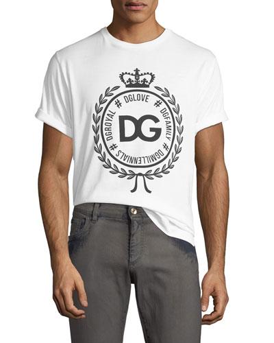f5a71af9c6bb Men s Crown Logo Crewneck T-Shirt