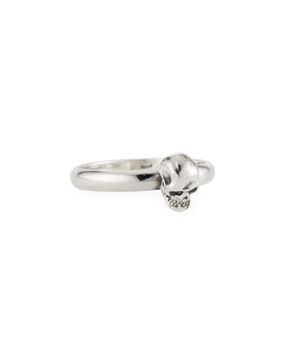Men's Carved Skull Ring