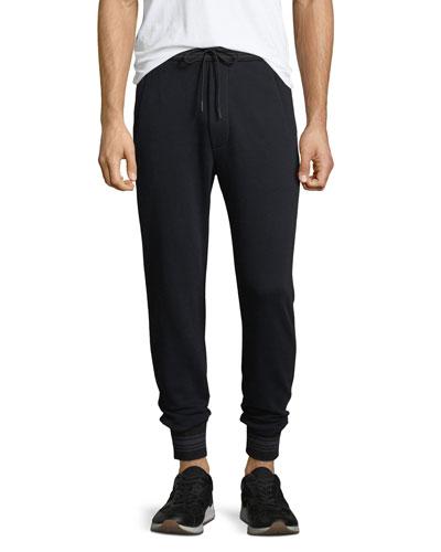 Men's Striped-Trim Sweatpants