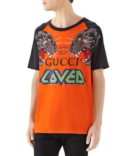 bc71f368685 Men s Tiger Graphic T-Shirt Quick Look. Gucci
