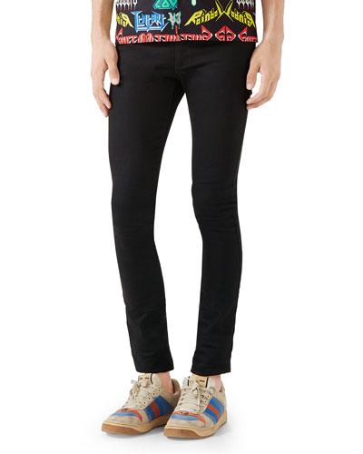 Men's 5-Pocket Skinny Jeans