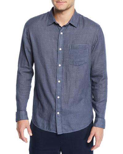 Men's Double Face Plaid Shirt