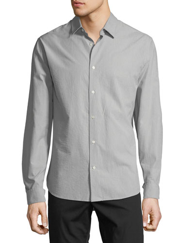 Men's Micro Stripe Sport Shirt