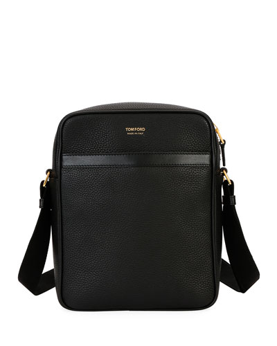 Men's Leather Crossbody Bag