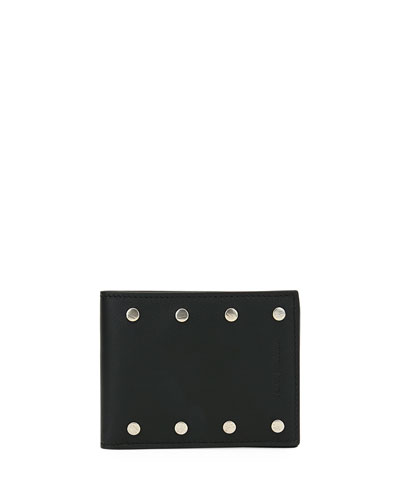 Men's Giano Studs Bi-fold Wallet