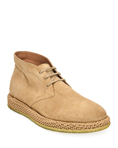 ff36ffd20 Men's Alpes Suede Chukka Boots Quick Look. Salvatore Ferragamo