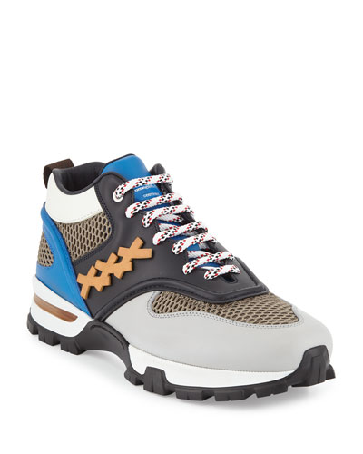 Men's Cesare Colorblock Hiker Sneakers