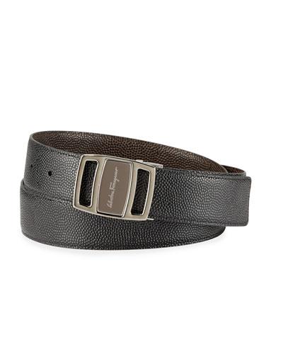 Men's Reversible Vara-Buckle Belt