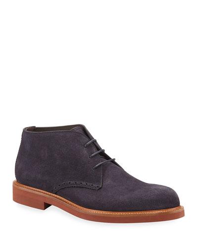 Men's Trivero Suede Ankle Boot