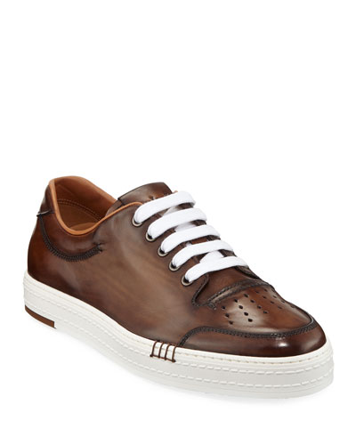 Men's Playtime Palermo Calf Leather Sneaker