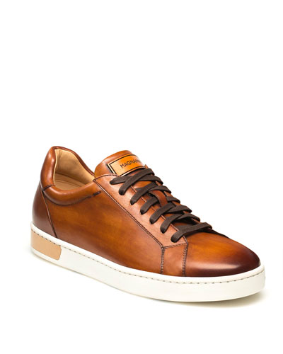 f681da0292 Men s Boltan Caballero Hand-Painted Leather Low-Top Sneakers