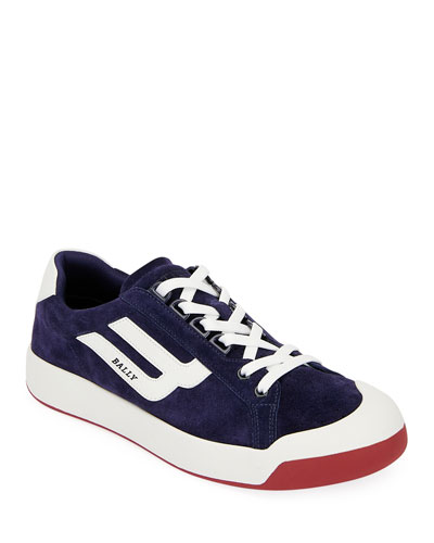 Men's New Competition Suede Retro Low-Top Sneakers